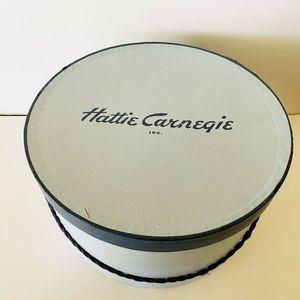 Hattie Carnegie Hat Box Vintage